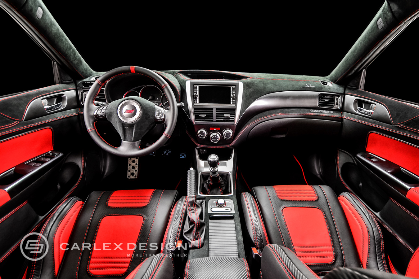 The Wild Beast Subaru Impreza Wrx Sti Von Carlex Design