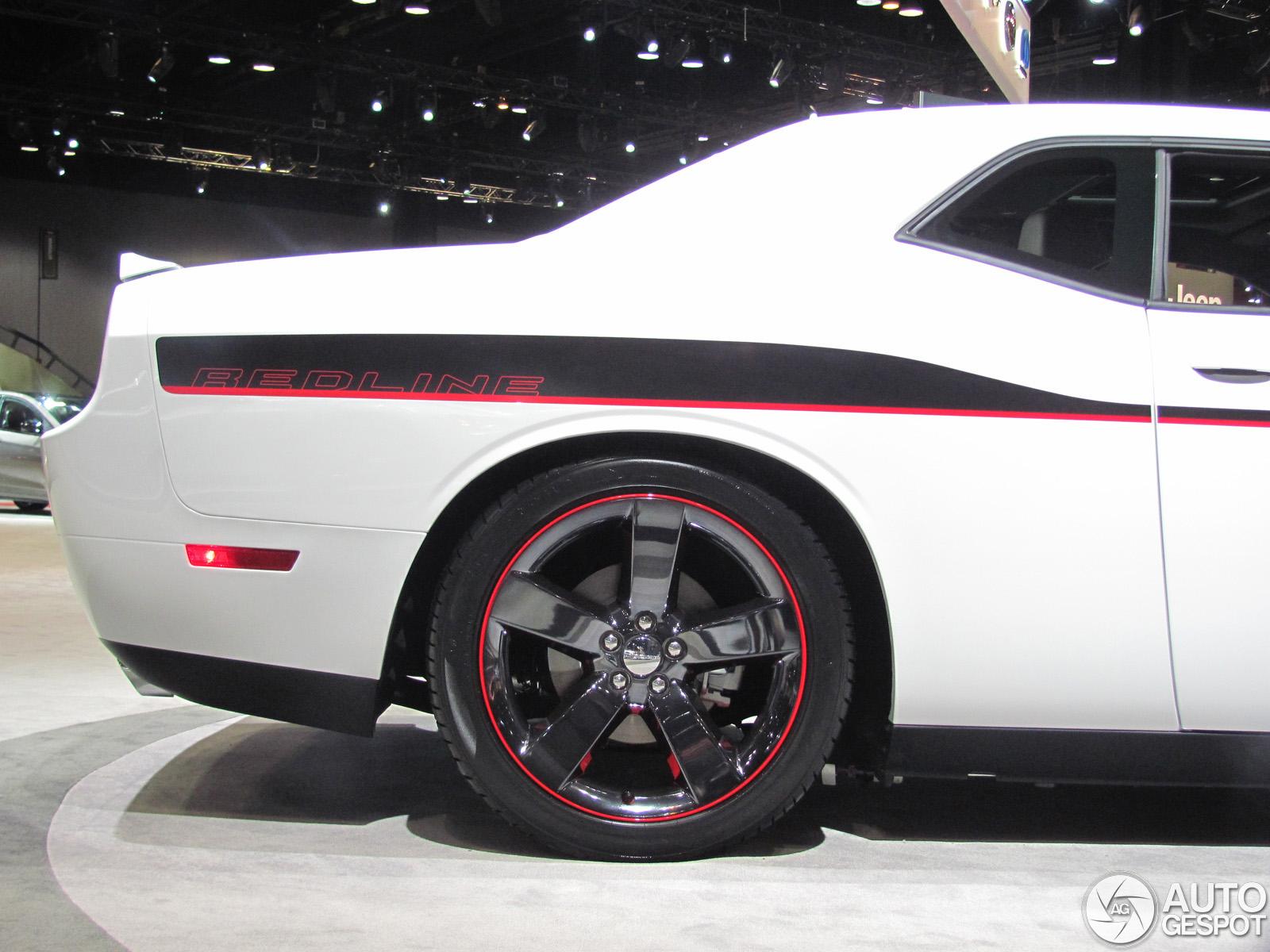 Chicago Motor Show 2013 Dodge Challenger R T Redline