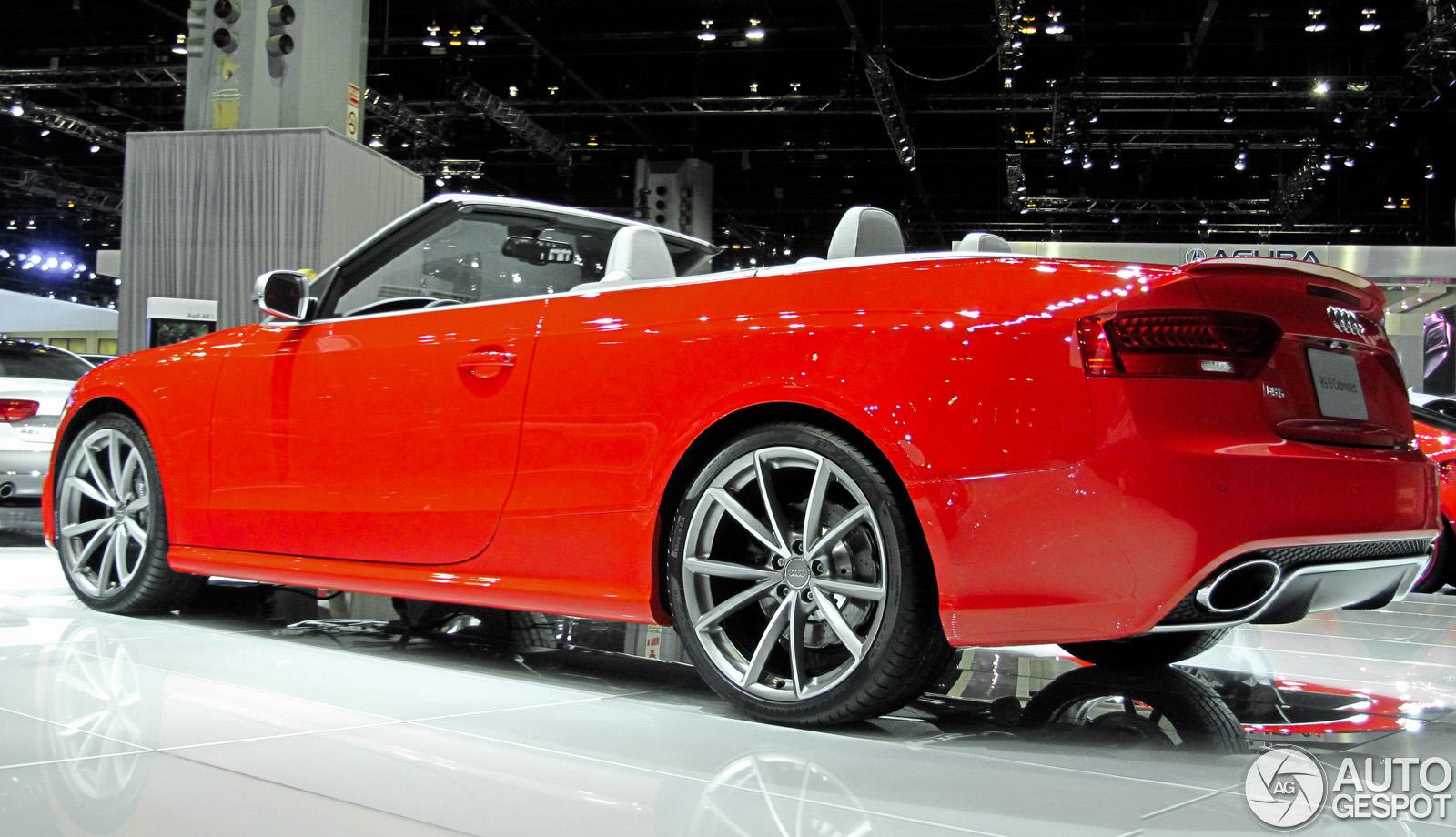 chicago motor show 2013 audi rs5 cabriolet. Black Bedroom Furniture Sets. Home Design Ideas