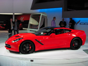 Chicago Motor Show 2013: Corvette Stingray