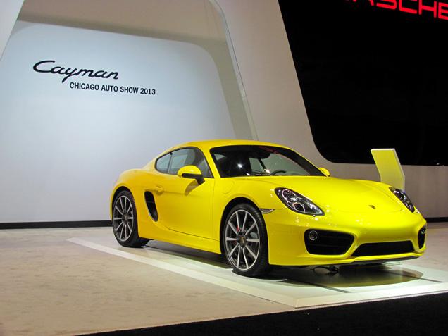 Chicago Motor Show 2013: Porsche Cayman 2013