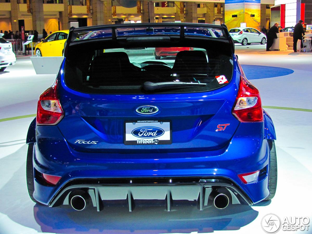Chicago Motor Show 2013 Ford Focus St Trackster Door Fifteen52