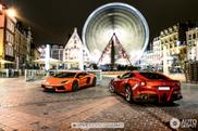 Lamborghini i Ferrari zajedno čine prelepi kombo