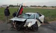 Video: Lamborghini Murciélago LP640 Versace distrutta!!