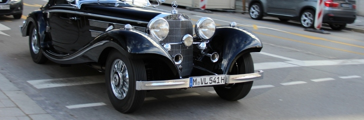 Mercedes Benz True Piece Of Art 540K Spezial Roadster