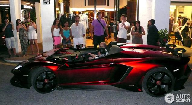 a real topspot lamborghini aventador j - Lamborghini Aventador Chrome Purple