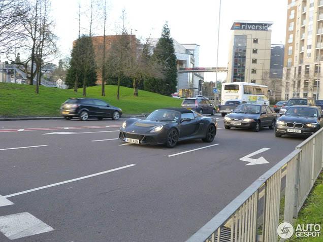 Primeur gespot: Lotus Exige S Roadster
