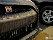 "Primećen: Nissan GT-R ""Deep Frozen Edition"""