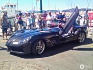 Avvistata Mercedes-Benz SLR McLaren Stirling Moss nera