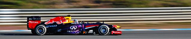 照片报告: 赫雷斯一级方程式新车赛道测试
