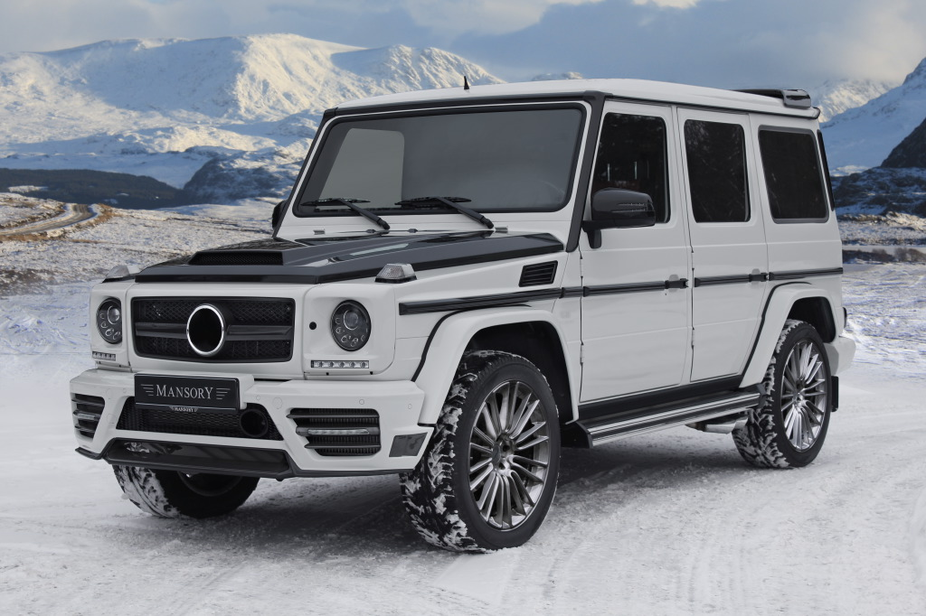 mansory laat nieuwe mercedes benz g klasse zien in gen ve. Black Bedroom Furniture Sets. Home Design Ideas