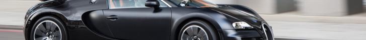 顶级照片: 独一无二布加迪威龙16.4 Super Sport Sang Noir
