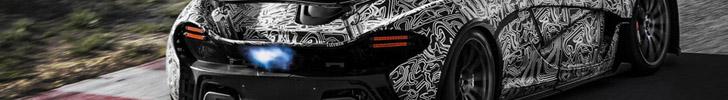 迈克拉伦 P1 V8引擎能够输出 916 匹马力!