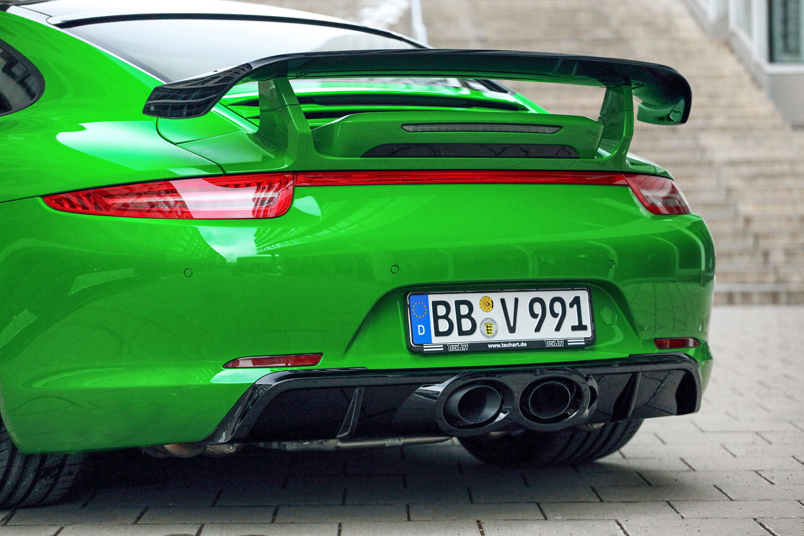 Looking Good In Green Porsche 991 Carrera 4s By Techart Engine Diagram