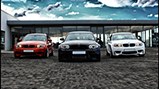 Fotoshoot: driemaal BMW 1-Serie M Coupé in Johannesburg