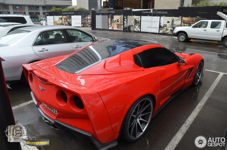 Gespot: Corvette C6 door Arsha Design