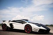 Milan Supercars brings a crazy Aventador to Geneva!