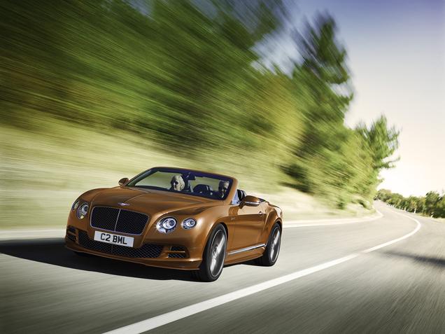 Bentley Continental GT Speed ontkomt niet aan kleine opfrisbeurt