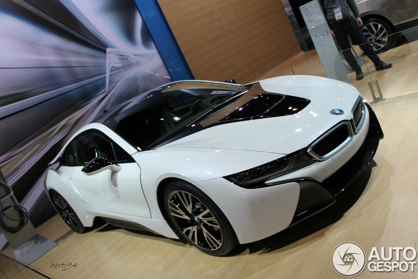 Chicago Auto Show 2014 Bmw I8