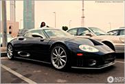 Perla ascunsa in Abu Dhabi: Spyker C8 Spyder SWB