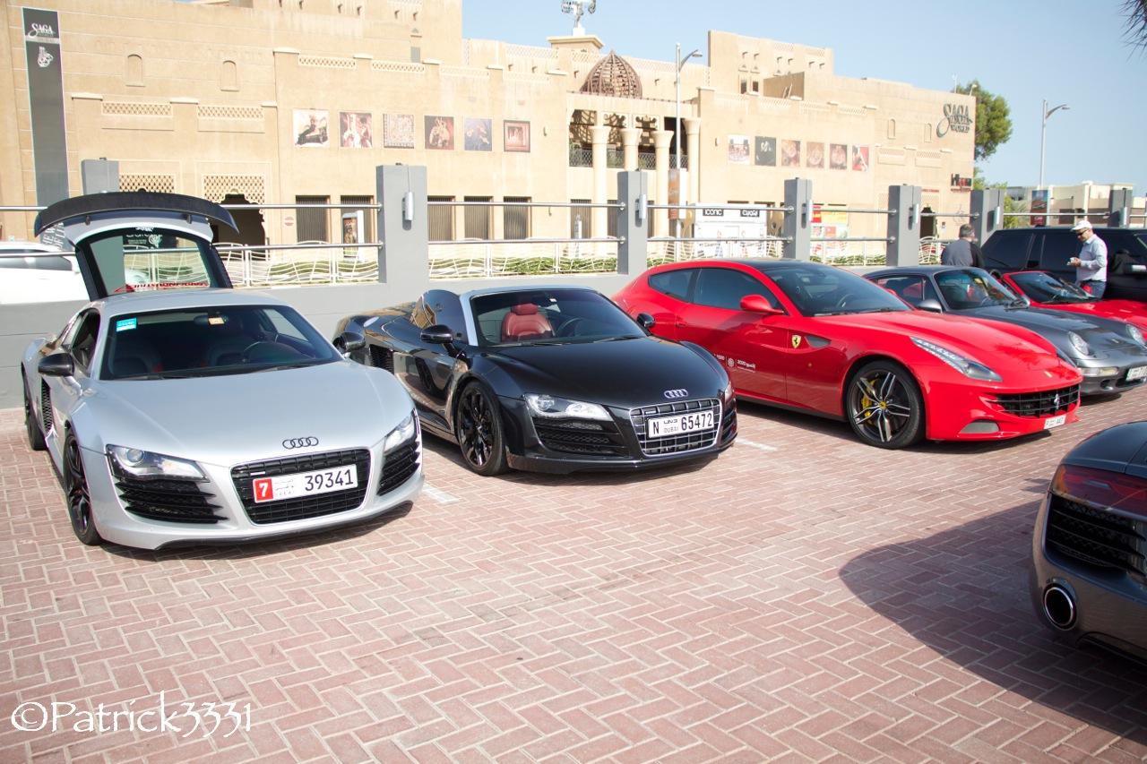 Cars Coffee Event In Dubai
