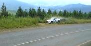 Película: Nissan GT-R hace un par de vuelcos