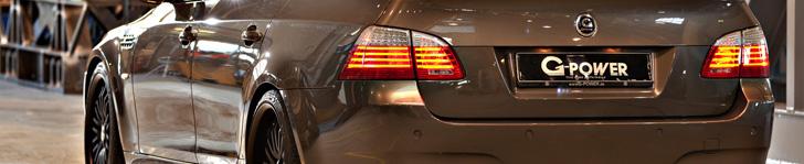 Piekielnie szybki: G-Power BMW M5 Hurricane RR Touring