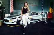 Heidi Klum promoveaza Maserati North America