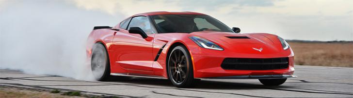 La Hennessey HPE700 Corvette è perfetta per i burn-out!