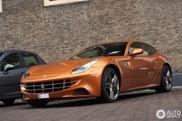 Ferrari FF ne surprinde cu o culoare frumoasa