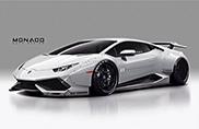 Lamborghini Huracán con bodykit Liberty Walk è paurosa!
