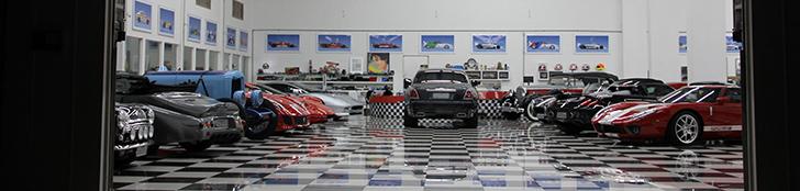 Voici la collection personnelle de Nelson Piquet