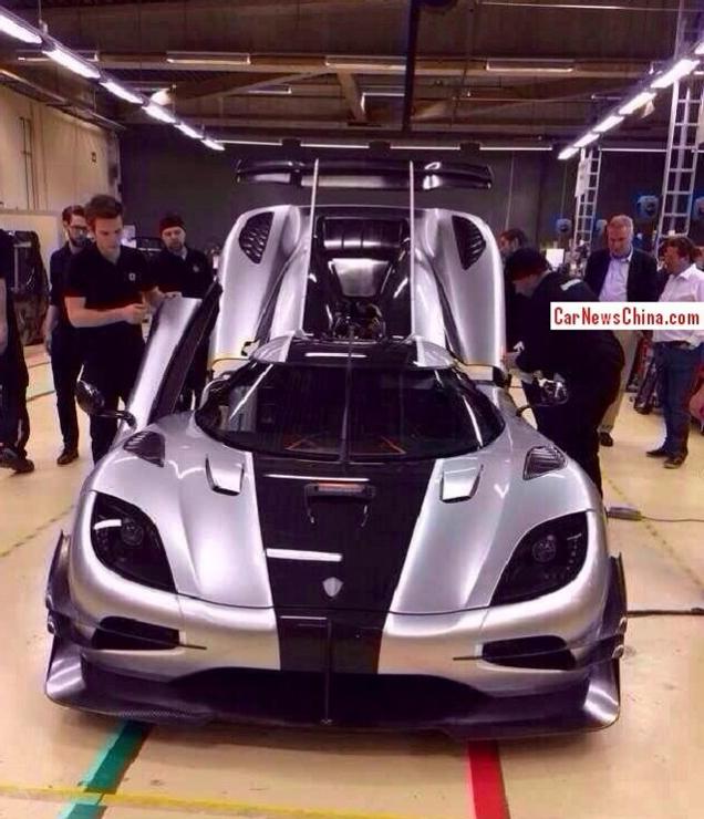 Eerste foto's Koenigsegg One:1 gelekt