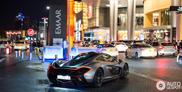 Team Galag's McLaren P1 reperata in Dubai