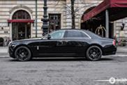 Rolls-Royce Ghost Alpine Trial Centenary Collection arata chic