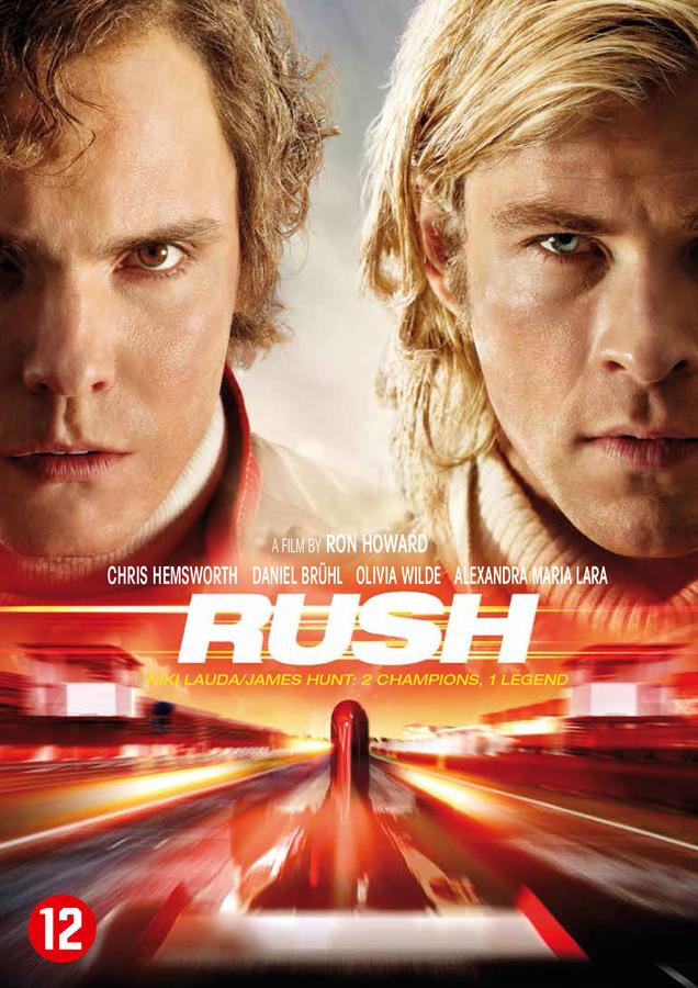 Dit zijn de winnaars van de Rush DVD!