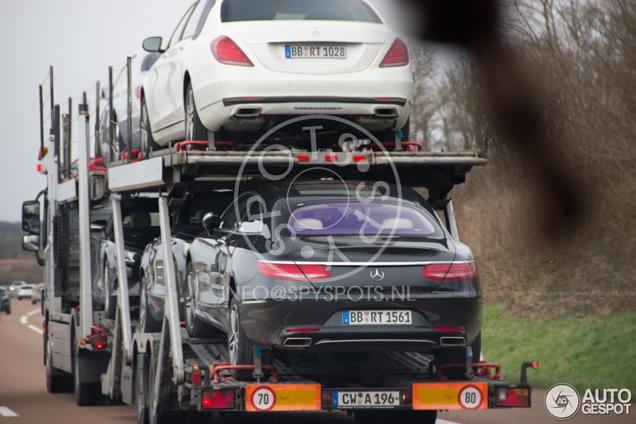 Mercedes-Benz S-Klasse Coupé zonder camouflage betrapt