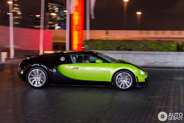 green veyron 164 super sport is a stranger in our midst - Bugatti Veyron Super Sport 2013 Wallpaper