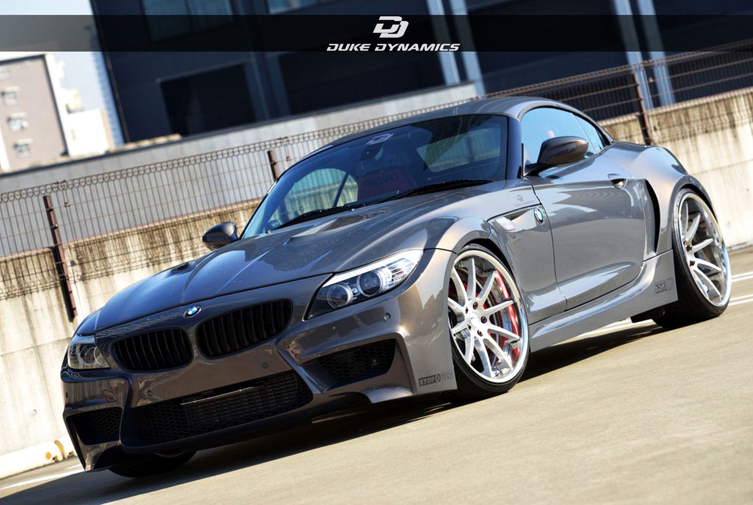 duke dynamics tunes the bmw z4 e89. Black Bedroom Furniture Sets. Home Design Ideas