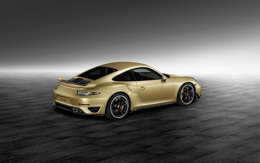 New Aerokit For The Porsche 911 Turbo And 911 Turbo S