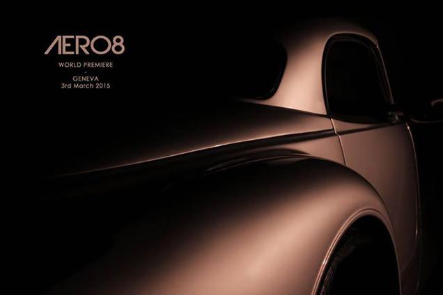 Morgan toont nieuwe Aero8 tijdens de Genève Show