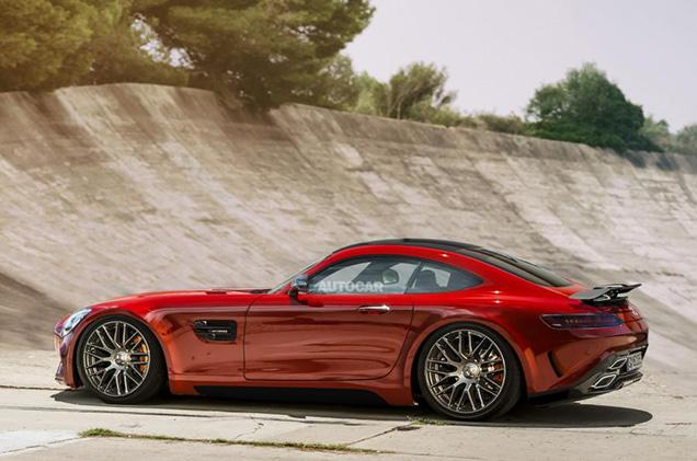 Krachtigere Mercedes-AMG GT op komst