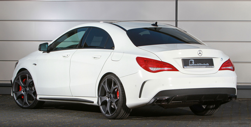 B Amp B Gives The Mercedes Benz Cla 45 Amg Up To 450 Hp