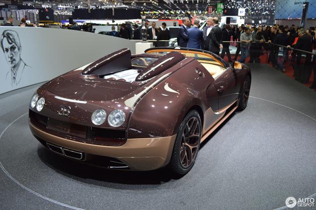 Bugatti viert slotakkoord in Genève met 450e Veyron