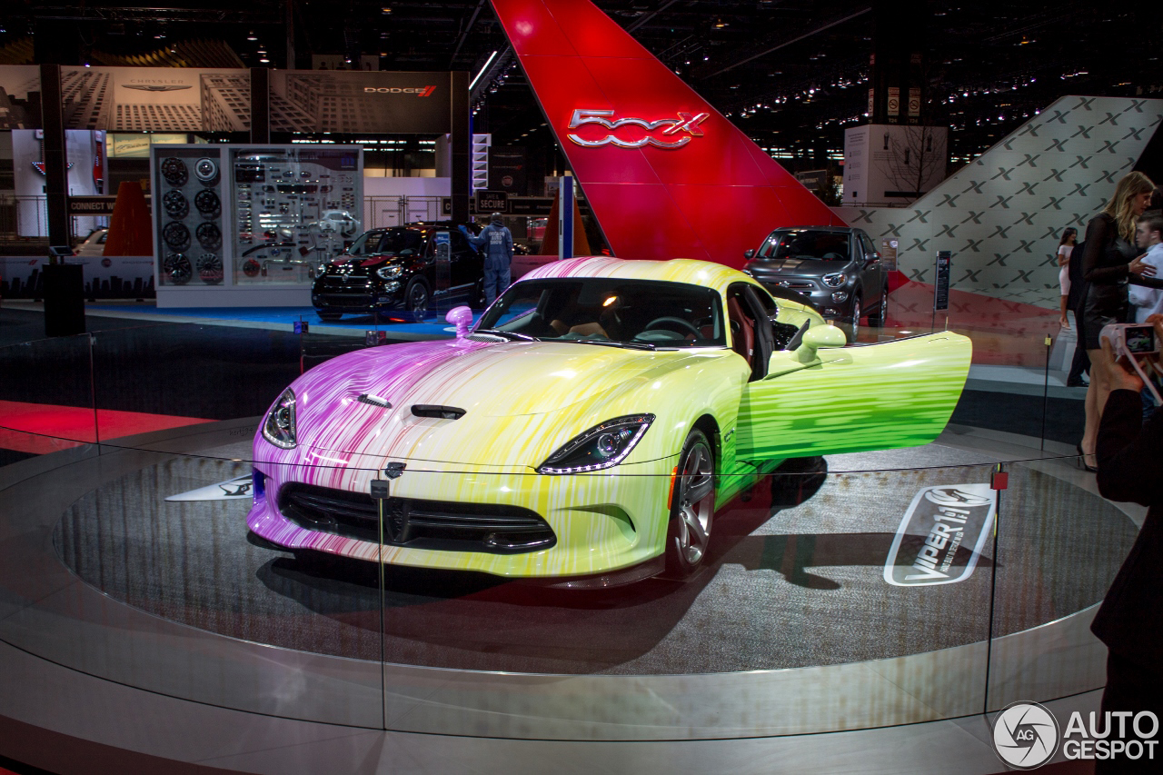 Chicago 2015 Dodge Viper Gtc 1 Of 1