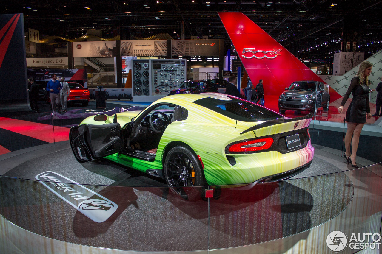 Chicago 2015 Dodge Viper Gtc 1 Of 1
