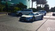 Crazy Mercedes-Benz CLK-GTR AMG spotted in Dubai
