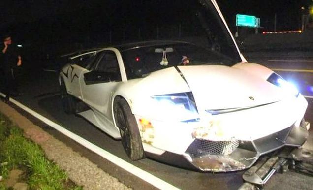 Eigenaar weet Lamborghini Murciélago LP670-4 SV in twee dagen te crash