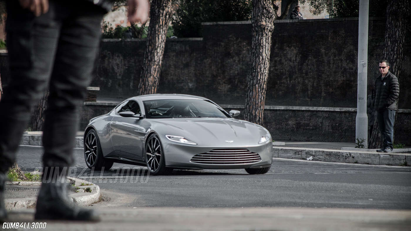 Aston Martin Db10 Spotted On The Set Of James Bond
