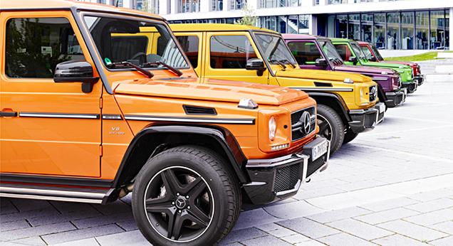 Mercedes-Benz G-Klasse AMG nog exclusiever